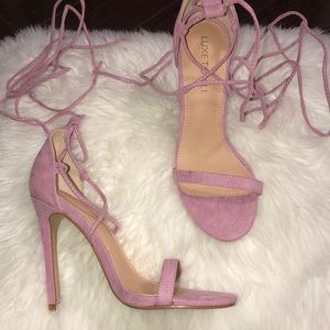 911a3719a272 Shoes - Lilac strappy heels